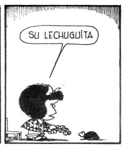 Frases de Mafalda Burocracia